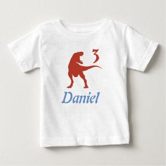 Boys Dinosaur 3rd Birthday Shirt