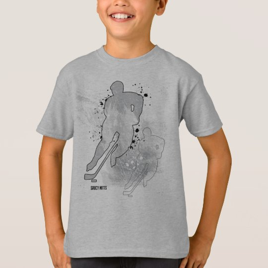 Boys Double Vision Hockey Player T-Shirt