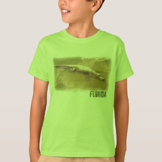 Boys Florida alligator shirt
