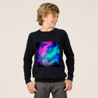 Boy's Galaxy Long Sleeve Sweatshirt
