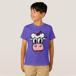 BOYS/ GIRLS ICE CREAM COW T-Shirt