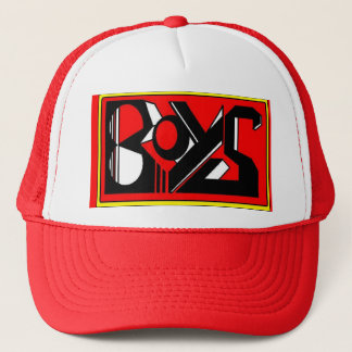 """boys hats"" trucker hat"