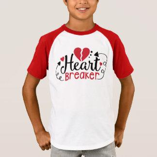 Boys Heart Breaker Valentine Shirt