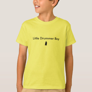 Boys Little Drummer Boy T-Shirt