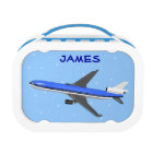 Boys Lunch Boxes With Aeroplane