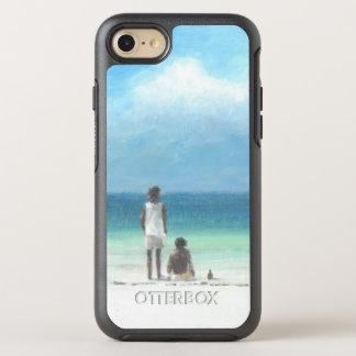 Boys on Beach Kenya OtterBox Symmetry iPhone 8/7 Case