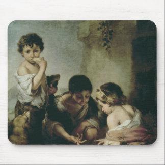 Boys Playing Dice, c.1670-75 Mouse Mat