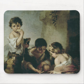 Boys Playing Dice, c.1670-75 Mouse Pad
