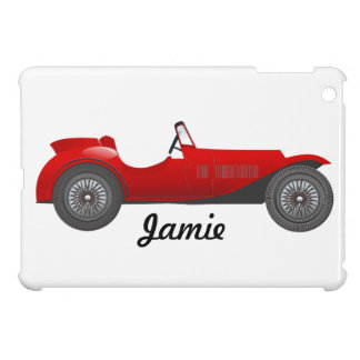 Boys Room Classic Car Gifts Sweet red Retro Car Case For The iPad Mini
