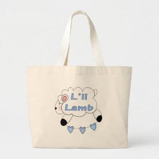 Boys Sheep 4th Birthday Gifts Jumbo Tote Bag