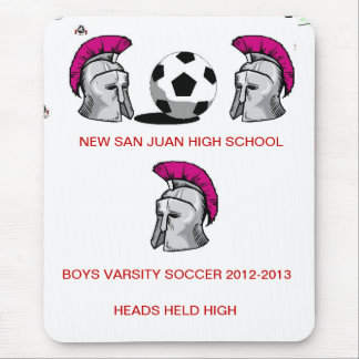 BOYS SOCCER MOUSE PADS