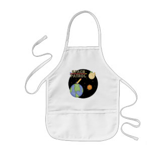 Boys Space T Shirts and Boys Gifts Kids Apron