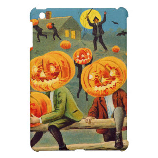 Boys Stealing Pumpkin Jack O' Lantern iPad Mini Case