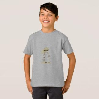 boys tagless t-shirt grey