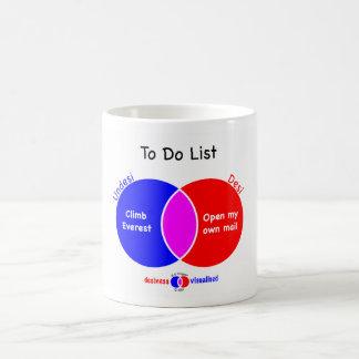 Boy's To Do List Mug