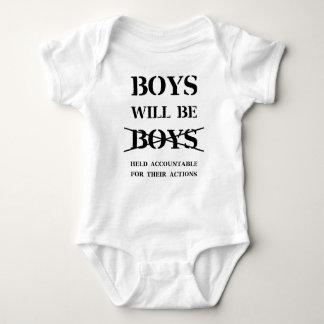 Boys will Be Boys (curse free) Baby Bodysuit