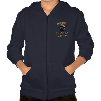 Boy's Youth Dog Wish Sweater Hooded Pullovers