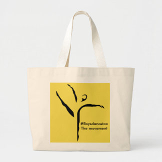 #Boysdancetoo the movement Tote Bag