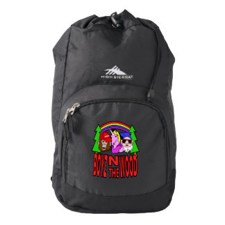 Boyz In The Wood Backpack