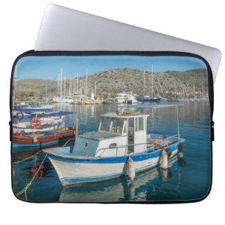 Bozburun Harbour Near Marmaris, Turkey Laptop Sleeve