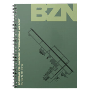 Bozeman Airport (BZN) Diagram Notebook