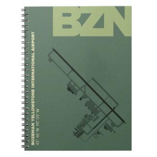 Bozeman Airport (BZN) Diagram Notebook
