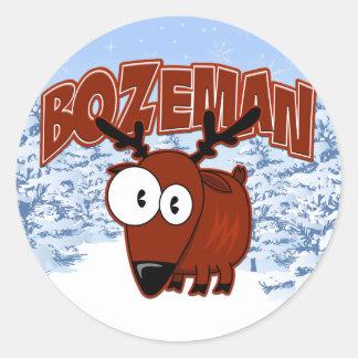 Bozeman Elk Sticker