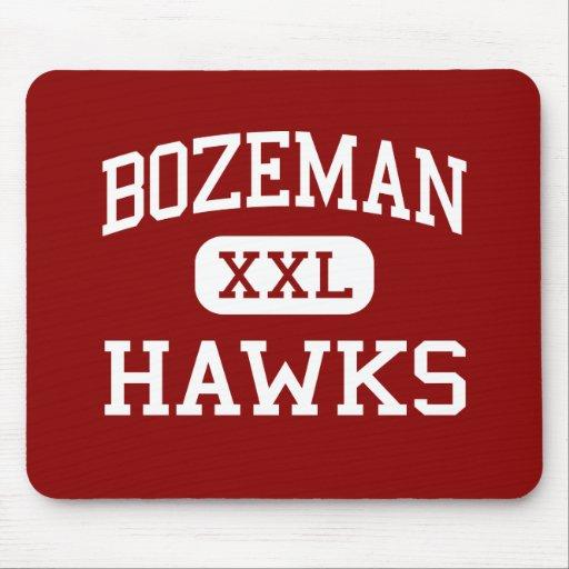 Bozeman - Hawks - High School - Bozeman Montana Mouse Pads