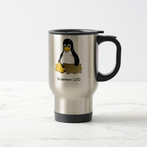 Bozeman LUG travel mug