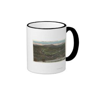 Bozeman, Montana - Bozeman Pass on Highway 10 Ringer Mug