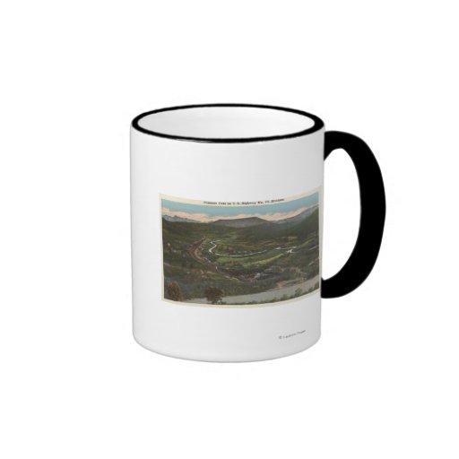 Bozeman, Montana - Bozeman Pass on Highway 10 Mug