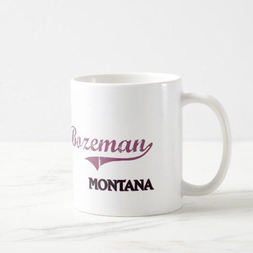 Bozeman Montana City Classic Coffee Mug