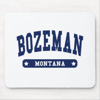 Bozeman Montana College Style t shirts Mouse Pad