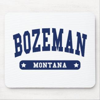 Bozeman Montana College Style t shirts Mousepad
