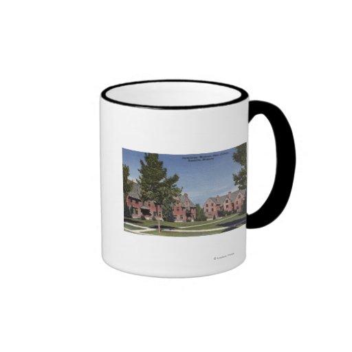 Bozeman, Montana - Dormitories at Montana State Coffee Mugs
