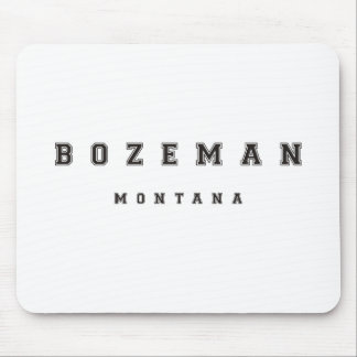 Bozeman Montana Mouse Pad