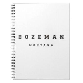 Bozeman Montana Spiral Note Books