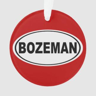 Bozeman Montana Ornament