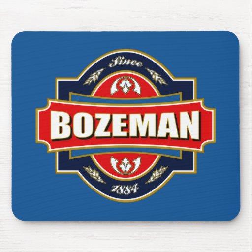 Bozeman Old Label Mouse Pads