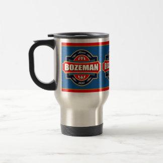 Bozeman Old Label Stainless Steel Travel Mug