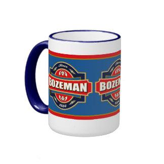 Bozeman Old Label Ringer Mug