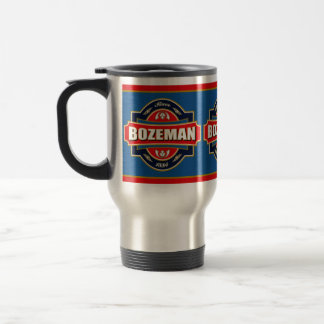 Bozeman Old Label Stainless Steel Travel Mug