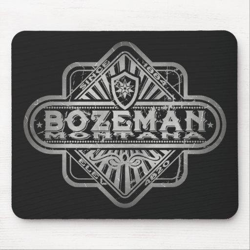 Bozeman Vintage Diamond Mouse Pad