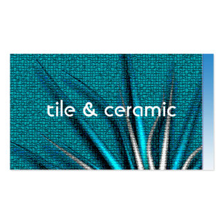 Bozeto Abstract IV, tile & ceramic Pack Of Standard Business Cards