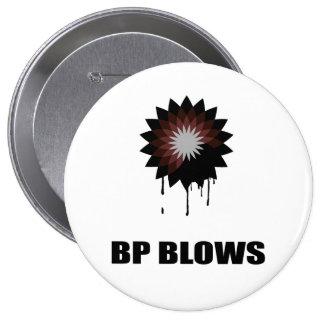 BP BLOWS 10 CM ROUND BADGE