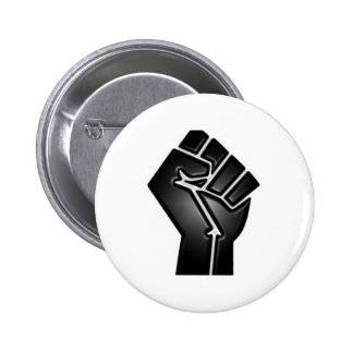 bp fist 6 cm round badge