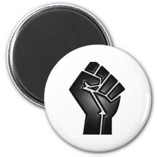 bp fist 6 cm round magnet