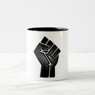 bp fist Two-Tone mug