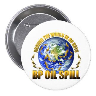 BP Gulf Coast Oil Spill 7.5 Cm Round Badge