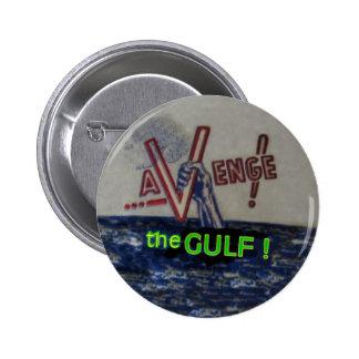 BP Gulf Oil Spill 6 Cm Round Badge